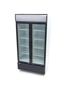 Dvojdverová vitrínová chladnička 800 L