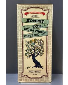 Honest Toil EXTRA VIRGIN OLIVE OIL 5l