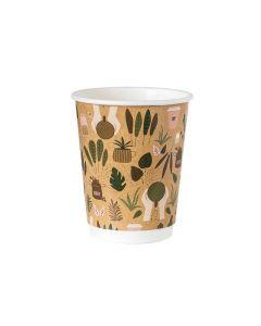 Papierový THERMO pohár na kávu NATURA   250 ml / 20 ks
