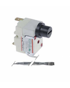 Bezpečnostný termostat CAEM do 230°C 1-pólový 16A
