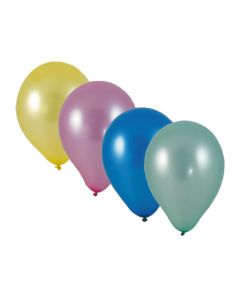 Nafukovacie balóniky metalíza mix M [100 ks]