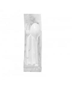 Sada (nôž + vidlička + lyžica + obrúsok) hyg. balené [250 ks]
