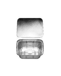 Miska hranatá ALU 470 ml vrátane viečka [5 ks]