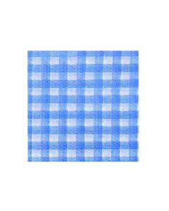 Obrúsky 1-vrstvé, 33 x 33 cm KARO modré [100 ks]