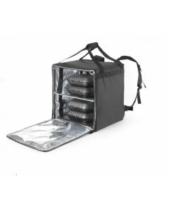 Termoizolačná taška na pizzu 410x410x(H)490 mm
