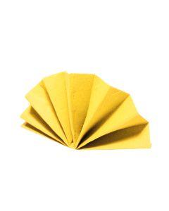 Obrúsky DekoStar 40 x 40 cm žlté [40 ks]