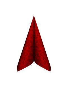 Obrúsky PREMIUM 40x40cm dekor R červené [50 ks]