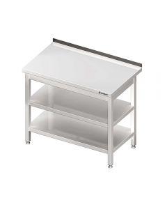 Pracovný stôl s dvoma policami 700x700x850mm