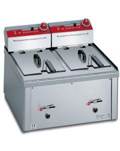 Stolová fritéza Profi 2 x 9 litrov