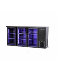DCL-222GMU | Trojdverová barová chladnička
