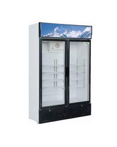 Presklená chladnička na nápoje Forcar 620 l