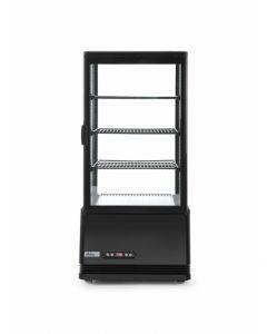 Nadpultová chladnička 78 L čierna
