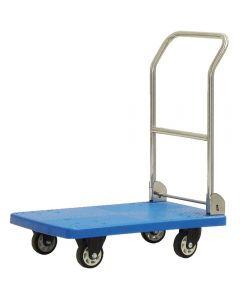 Transportný vozík s pogumovanými kolesami