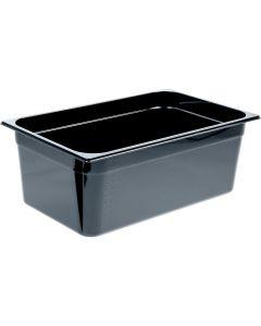 GN nádoba 1/1-200mm, čierný polykarbonát