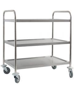Servisný vozík na kolieskach 3