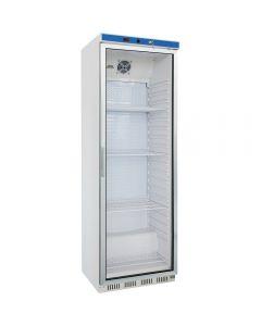 Podpultová chladnička s presklenými dvierkami 350l