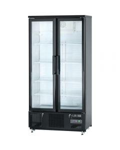 Presklená barová chladnička 2-dverová (posuvné) 490 l