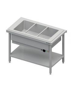 Ohrevný výdajný stol na 2x GN1/1
