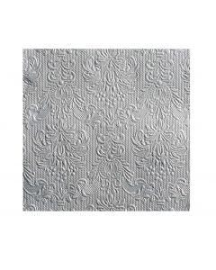 Servítky Elegance silver 40x40, Ambiente
