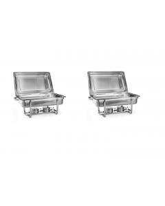 2x Chafing dish GN1/1 / SET/