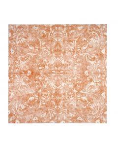 Servítky papier 100 ks FELICIA terrakotta 40x40, Mank