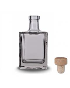 Fľaša na alkohol Qbic 500 ml so zátkou