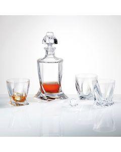 Quadro whisky set