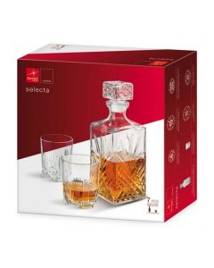 7 dielny whisky set SELECTA